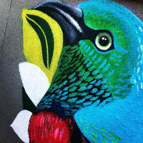 Murals by Lauren Lee Fine Art seen at 63 E Southern Ave, Tempe - Mural for Valley Fair Complex