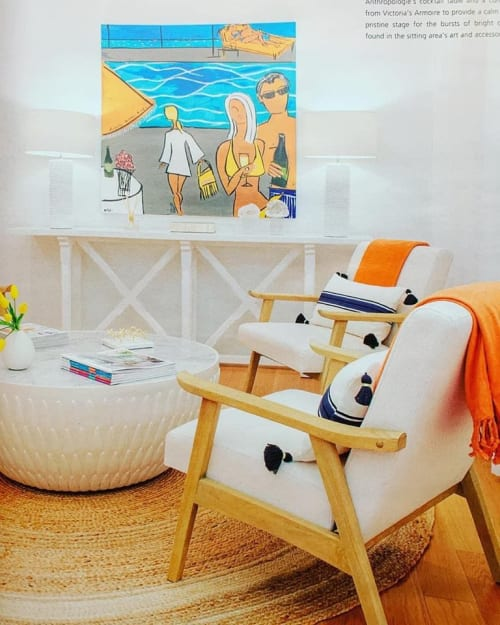 Art Curation by Robin Hiers seen at Private Residence, Key Largo - Key Largo Retreat