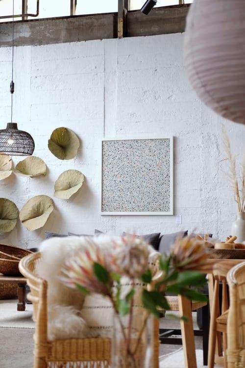 Paintings by Alexandra Weston Art seen at Corcovado Furniture & Homewares, Auckland - Pöttyök 9