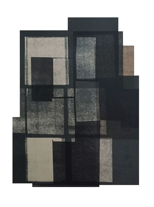 Paintings by Agathe BOUTON seen at Private Residence, New York - Monotype prints - 2016