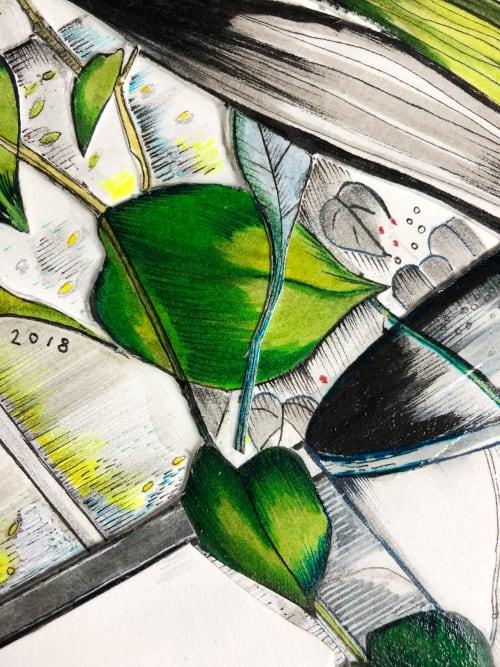 Art & Wall Decor by Victrola Design / Victoria Corbett Art seen at Austin, Austin - Through The Looking Glass