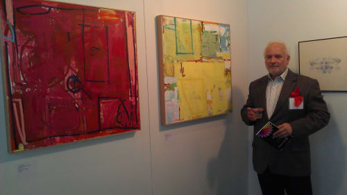 Paintings by Joey Korom seen at Private Residence, Saddle River - Halsted Street Tourney