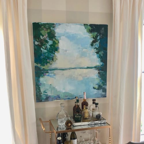 Paintings by Sarah Caton Wynne seen at Private Residence, Louisville - Private Home, Louisville, Kentucky