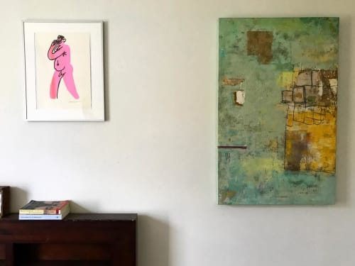 Paintings by Lisa Pressman seen at Private Residence, San Francisco - Painting