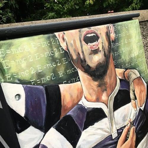 Murals by Joanne Murphy - Strive