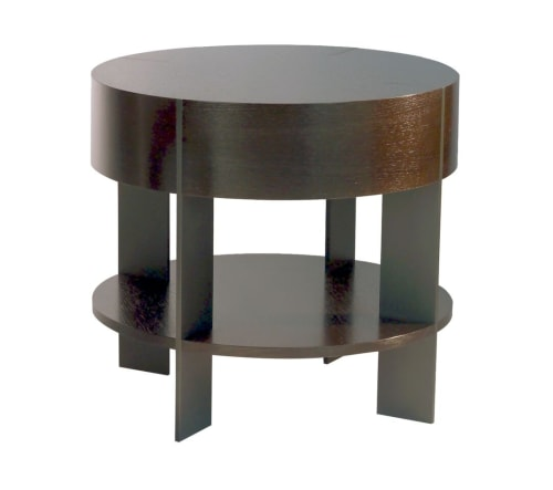 Tables by Antoine Proulx, LLC seen at The Oxford, New York - ET-93S End Table with Shelf