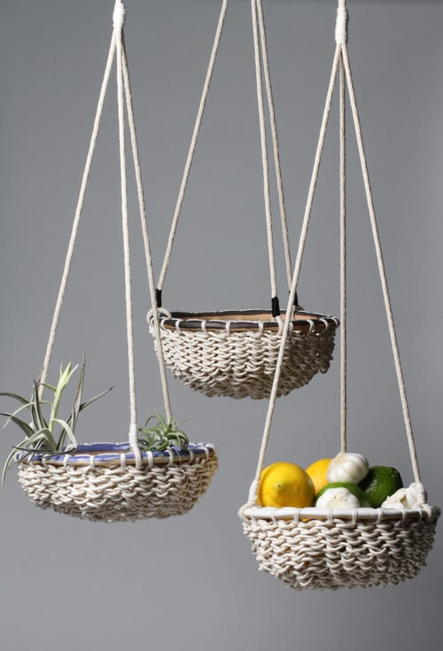 Vases & Vessels by Karen Gayle Tinney at The Joshua Tree House, Joshua Tree - Hanging Basket 021