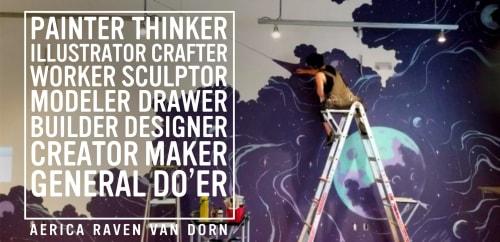 Aerica Raven Van Dorn - Murals and Art