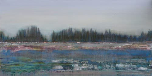 Paintings by Loretta Kaltenhauser Contemporary Fine Art seen at Private Residence, Toronto - Winter Thaw