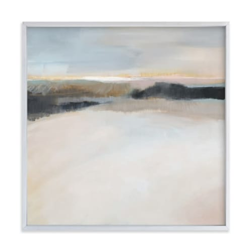 Paintings by Alison Jerry Designs seen at Simply Modern Living, Grand Rapids - A Winter's Walk