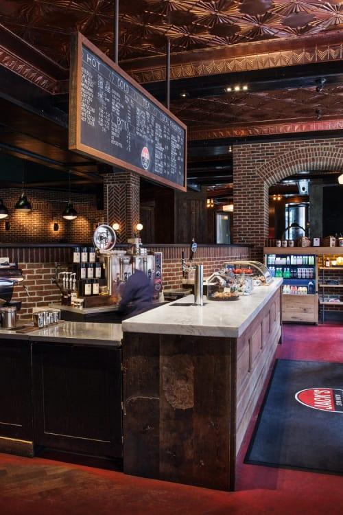 Interior Design by Studio Robert Jamieson seen at Jack's Stir Brew Coffee, New York - Jack's Stir Brew Coffee