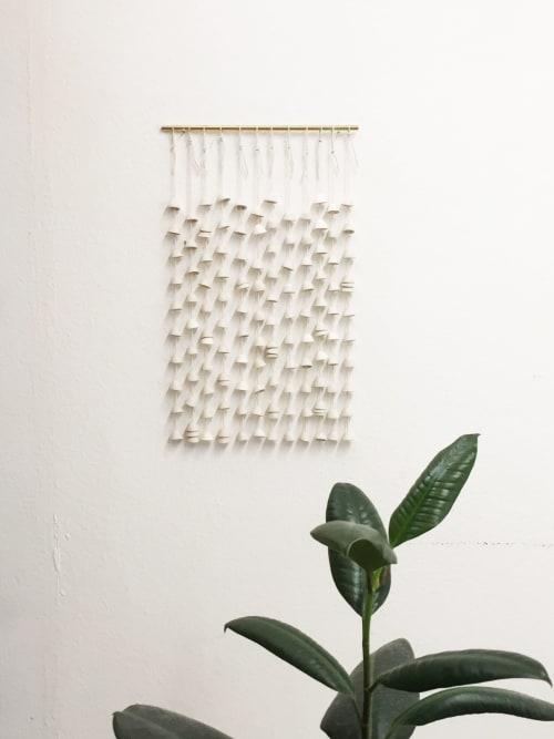 Wall Hangings by Kristina Kotlier seen at Private Residence, Berkeley - Bells - Porcelain
