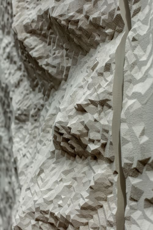 Art & Wall Decor by Housefish seen at PEARL WEST, Boulder - Topographic wall carving