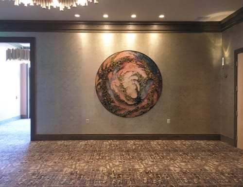Art & Wall Decor by Amy Genser Studio at Delamar West Hartford, West Hartford - Lunar Spin