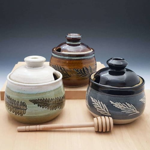 Honey Pot | Tableware by Orna's Pottery | Pike Place Market in Seattle