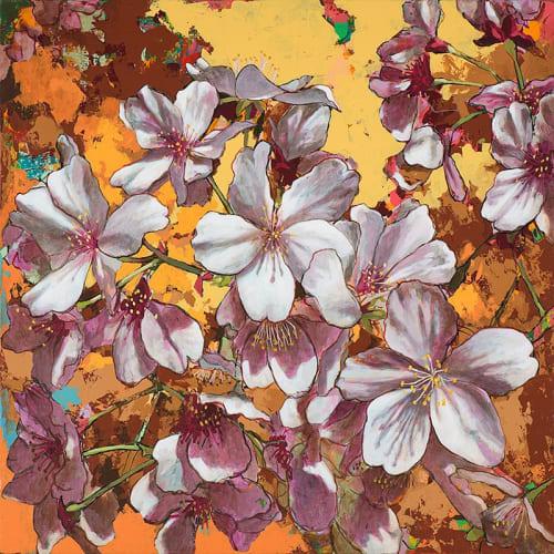 Paintings by David Palmer Studio seen at Pasadena, Pasadena - Cherry Blossoms #4