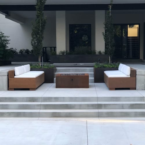Couches & Sofas by Bryan Lewis Customs seen at Private Residence, Park City - Floating Couches