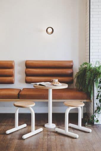 Interior Design by FOLK STUDIO seen at Wentworth St Coffee, Manly - Wentworth St Cafe