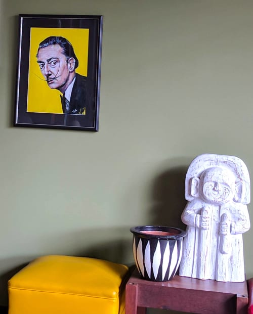 Paintings by Tanya Cole seen at Private Residence, Perth - 'Dancing With Dali' Limited Edition Print