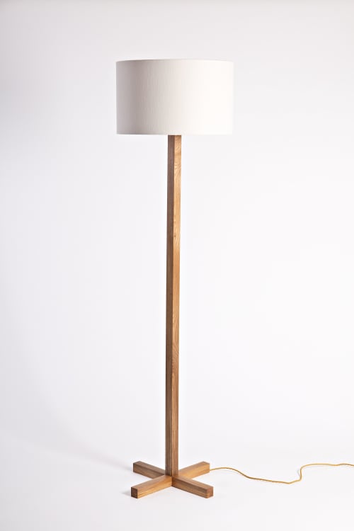 Lamps by Colin Harris seen at Private Residence, Ireland - Noughts & Crosses Floor Lamp