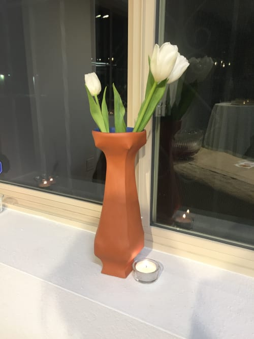 Vases & Vessels by Lauren Karle seen at Sol Harvest Farm, Albuquerque - Earthenware Vase
