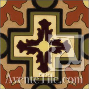Tiles by Avente Tile seen at Private Residence, Los Angeles - Malibu Kanan Cement Tile