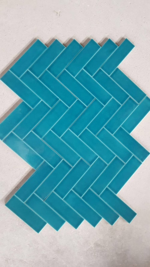 Tiles by Otto Tiles And Design at Artemis Investment Management, London - Hand Made Walls and Floors Tiles