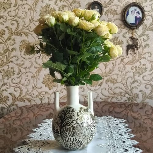 Vases & Vessels by Redwood seen at Private Residence, Moscow - Ceramic Vase