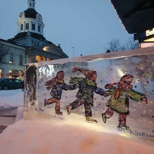 David Dossett of Martello Alley - Public Sculptures and Public Art