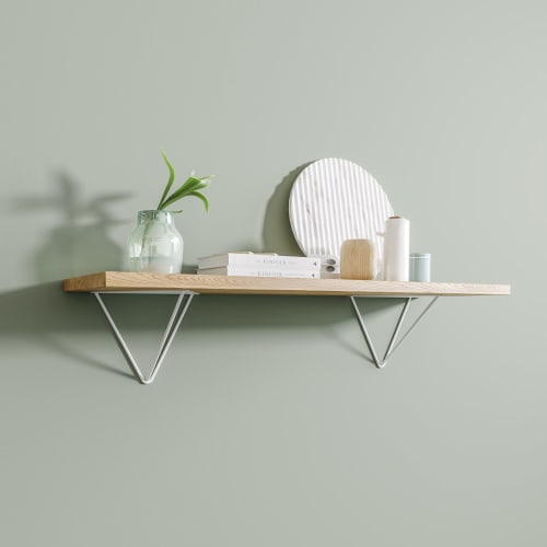 Furniture by The Hairpin Leg Co. seen at Creator's Studio, Malmesbury - Prism Shelf Brackets