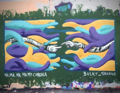 BS Just More (Bulky Savage) - Murals and Art