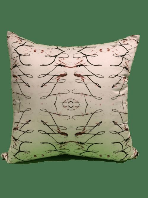 Pillows by Philomela Textiles & Wallpaper at Zalanta Resort at the Village, South Lake Tahoe - Swashes Copper