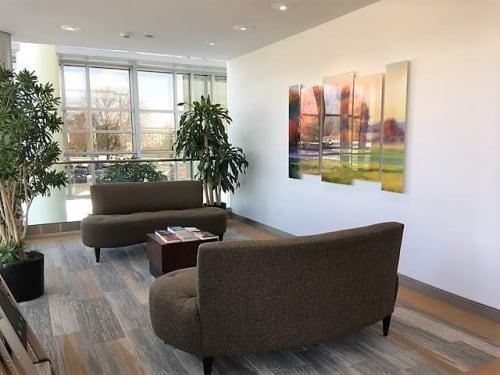 Interior Design by Art Solutions seen at Delta Dental of New Jersey, Inc., Parsippany-Troy Hills - Delta Dental - Art Consulting, Installation