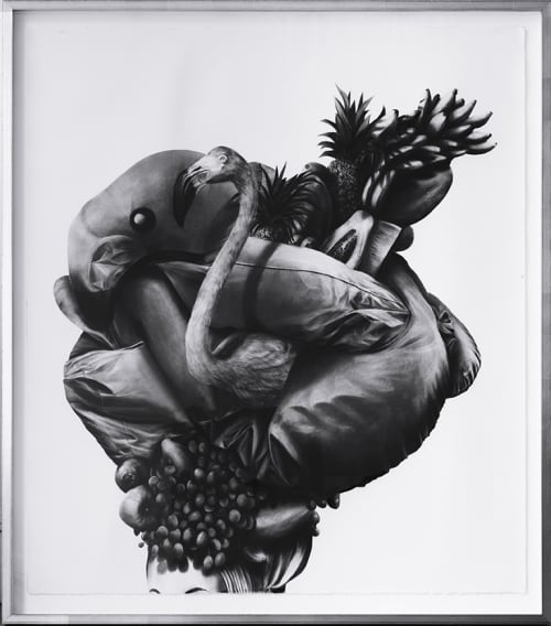 "Art & Wall Decor by Gonzalo Fuenmayor seen at Dolby Chadwick Gallery, SF, San Francisco - Gonzalo Fuenmayor's ""Carmen Deflated"""
