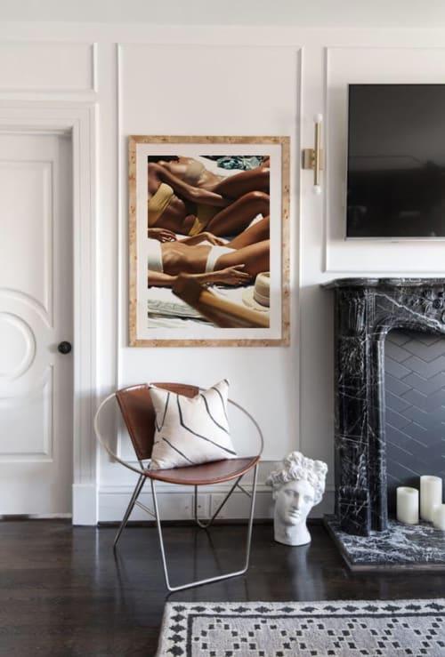 Photography by AKILA BERJAOUI seen at Private Residence - La Piscine