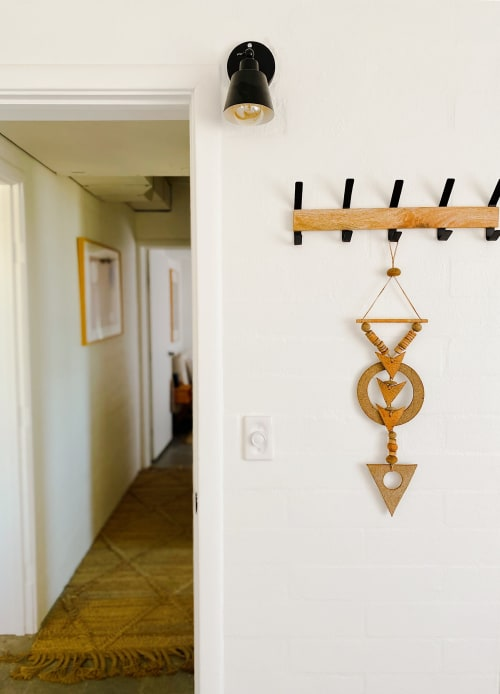 Wall Hangings by Heather Levine seen at Morongo Valley House, Morongo Valley - Ceramic Wall Hanging
