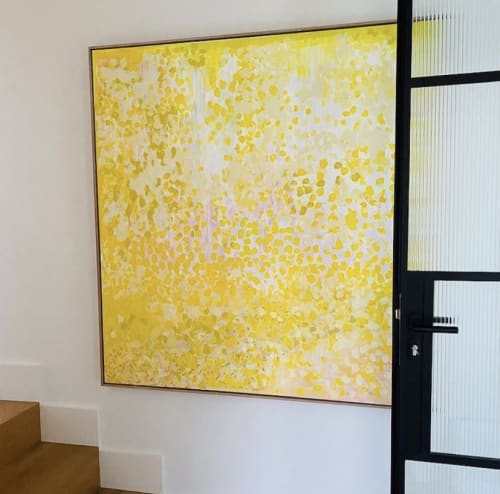 Paintings by GREENSTUDIO seen at Private Residence, Blairgowrie - Sunshine Salty Sand