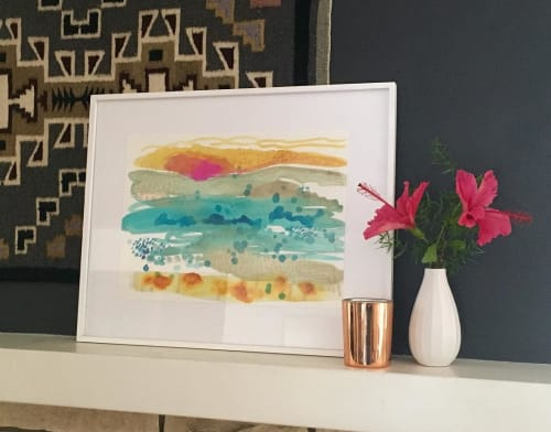 Paintings by Jennifer McHugh seen at Private Residence, San Diego - Los Cabos