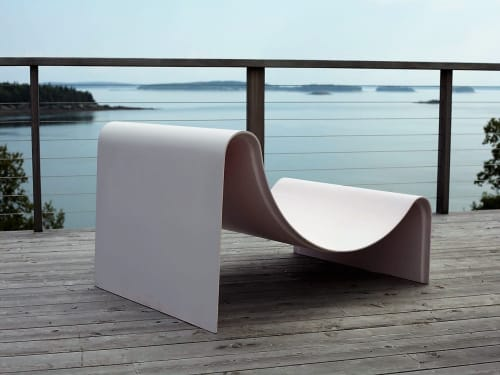 Chairs by Asa Pingree seen at Private Residence - Knockabout Lounge Chair