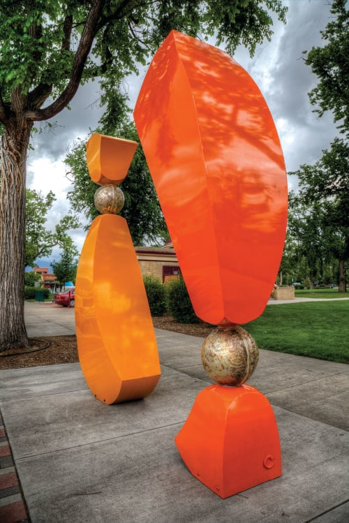 Public Sculptures by Steven Durow seen at Colorado Springs, Colorado Springs - My Other Half