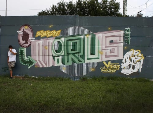 Virus - Street Murals and Public Art