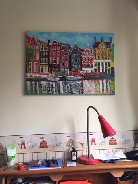Paintings by TERESA GOMEZ seen at Private Residence, Madrid - AMSTERDAM