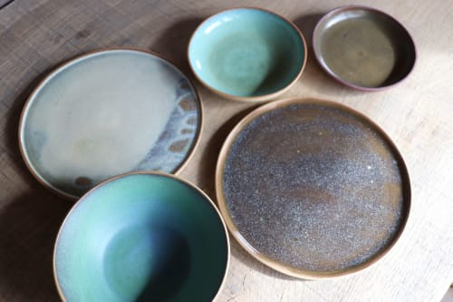 Ceramic Plates by Ceramics by Charlotte seen at Private Residence, Berlin - Plates and bowls