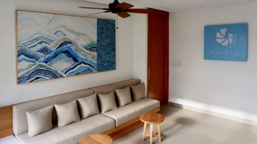 Paintings by Hay Hay seen at Ocean Villas - Ocean Currents
