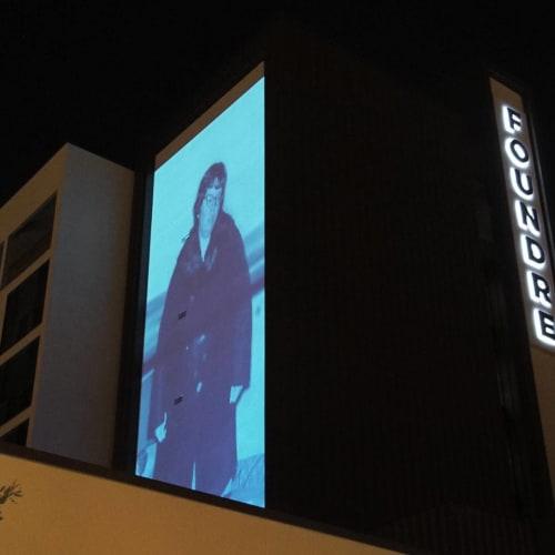 Art & Wall Decor by Ronna Nemitz at FOUND:RE Phoenix Hotel, Phoenix - Blue Woman