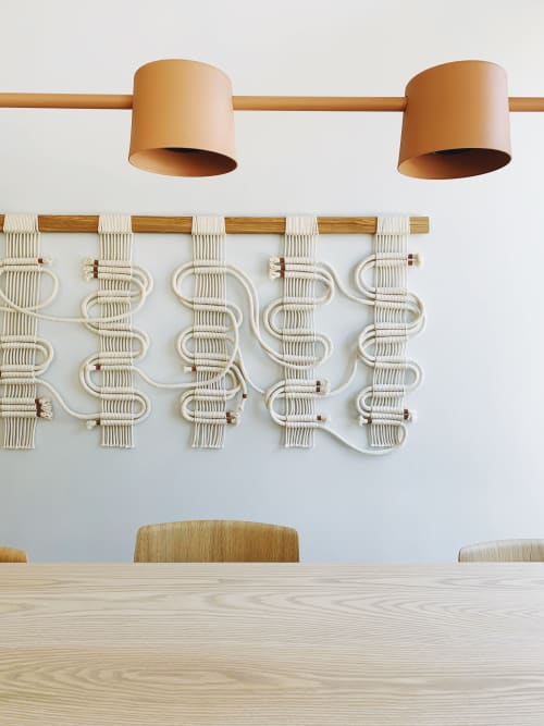 Wall Hangings by Windy Chien seen at Verve Coffee Roasters, Palo Alto - Circuit Board