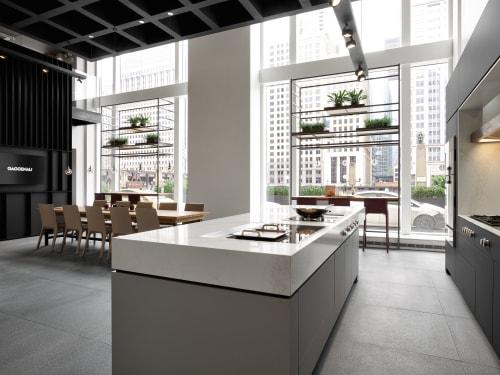 Interior Design by 1zu33 seen at Merchandise Mart, Chicago - Showroom Chicago, Gaggenau