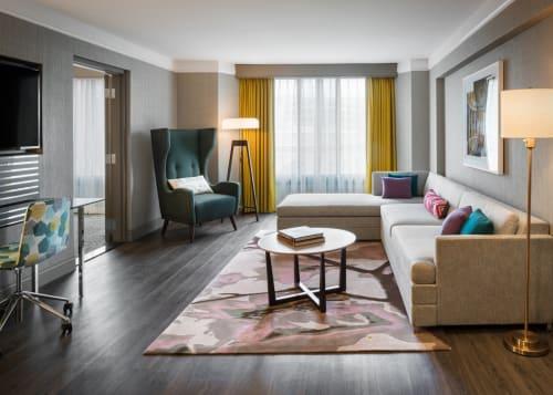 The Darcy Washington DC, Curio Collection by Hilton, Hotels, Interior Design