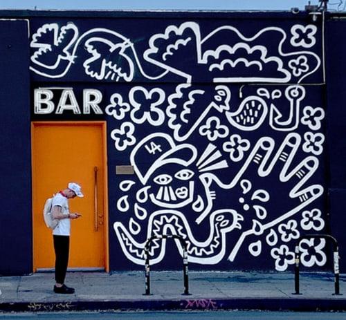 Eric Junker - Murals and Street Murals