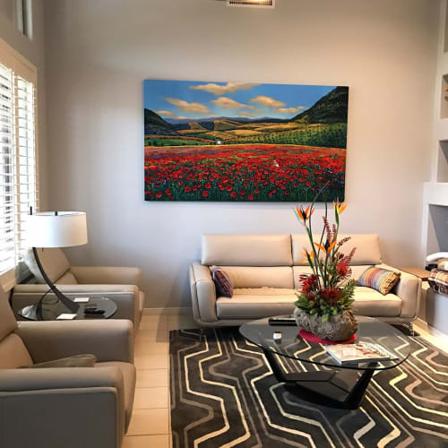 Paintings by Jennifer Vranes Fine Art seen at Franciscan Renewal Center - Scottsdale, Arizona, Scottsdale - Commissioned Paintings